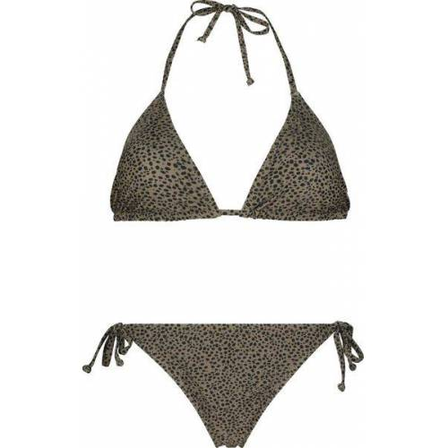HEMA Damen-Bikini, Animal Beige