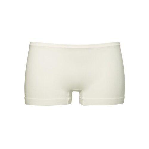 HEMA Nahtlose Damen-Boxershorts, Bambus Weiß