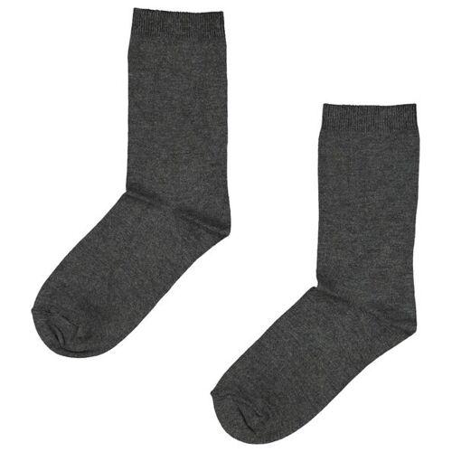 HEMA 2er-Pack Damen-Socken, Modal Graumeliert
