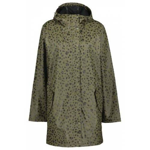 HEMA Damen-Regenjacke, Wasserfest Olivgrün