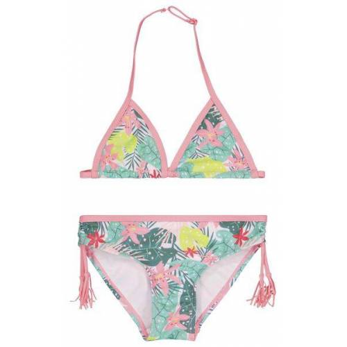 HEMA Kinder-Bikini, Blumen Bunt