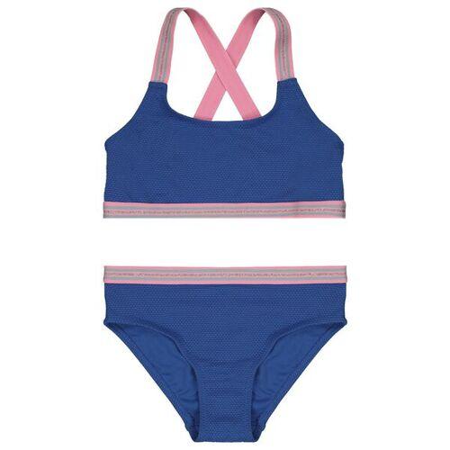 HEMA Kinder-Bikini, Relief Blau