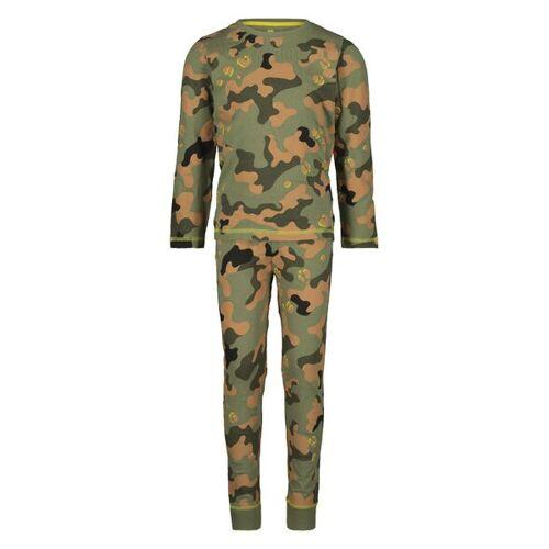 HEMA Kinder-Pyjama, Tarnfleckenmuster Grün