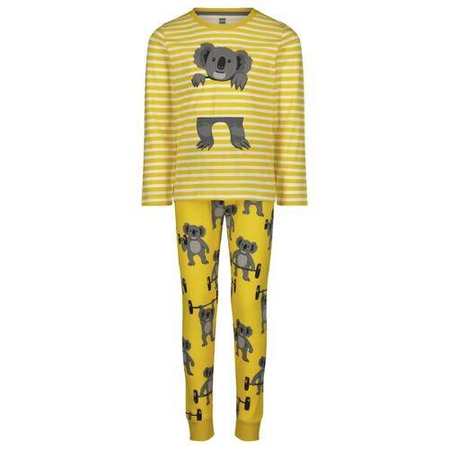 HEMA Kinder-Pyjama, Koalas Gelb