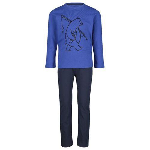 HEMA Kinder-Pyjama, Bär Blau