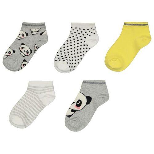 HEMA 5er-Pack Kinder-Socken, Panda Bunt