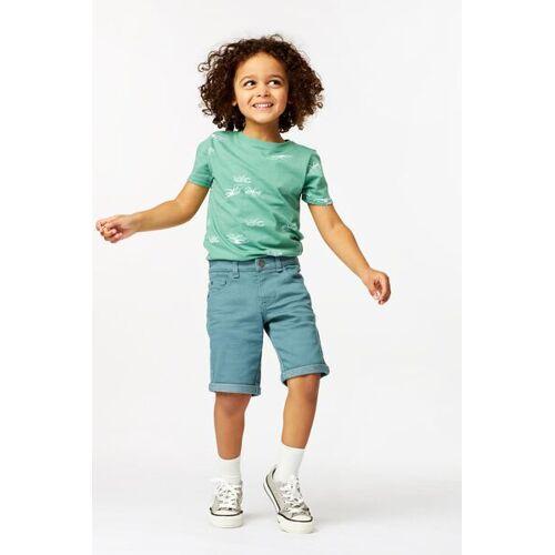 HEMA Kinder-T-Shirt, Insekten Grün