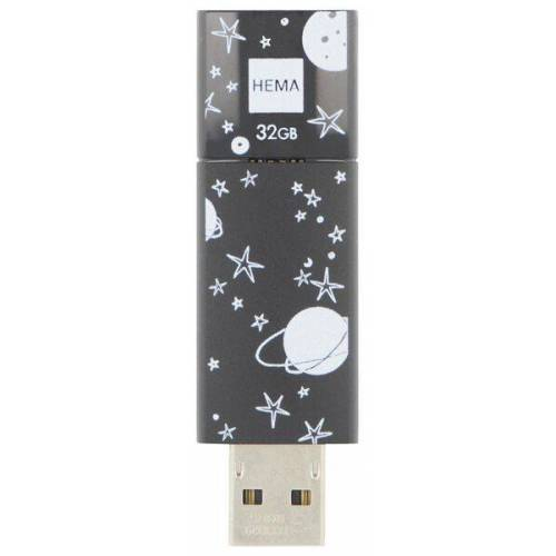 HEMA USB-Stick 2.0, 32 GB, Weltraum