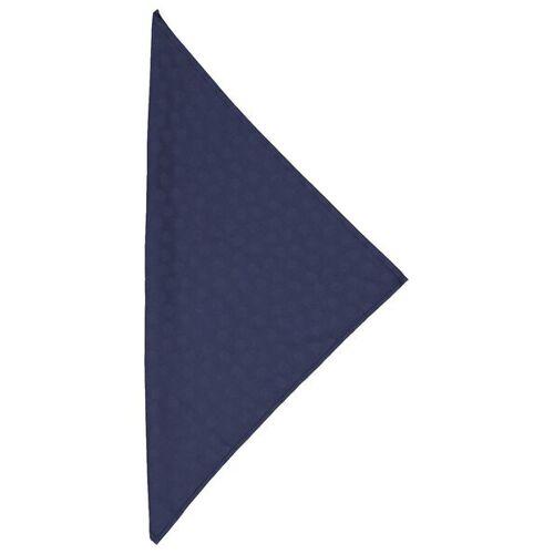 HEMA 2er-Pack Damast-Servietten, 47 X 47 Cm, Baumwolle, Blau, Punkte