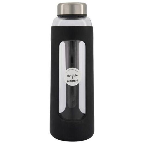 HEMA Wasserflasche, 500 Ml, Borosilikatglas