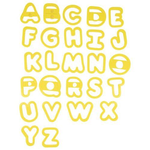 HEMA Buchstaben-Keksausstecher