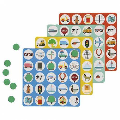 HEMA Bingo-Reisespiel