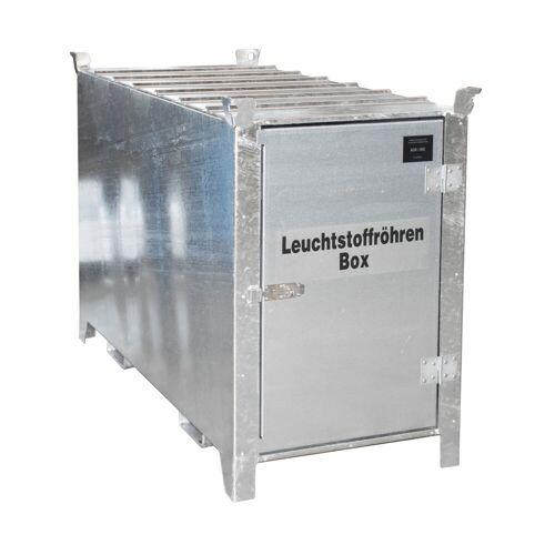 Bauer Leuchtstoffröhren-Box SL 200 nach ADR/RID 1.1.3.10c, feuerverzinkt mit verzinkter Tür