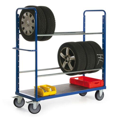 Protaurus Reifenwagen mit 2 Ebenen