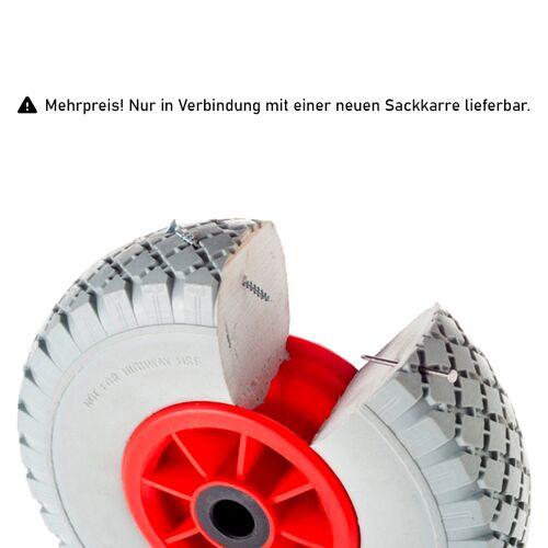 Rollcart pannensichere Reifen als Mehrpreis für Sackkarren
