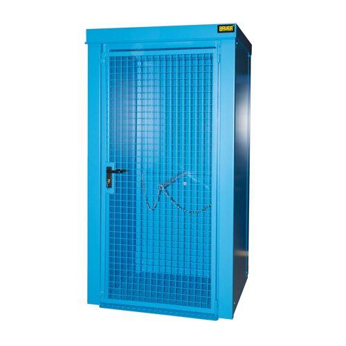 Bauer Gasflaschen-Container GFC-B M0, Lichtblau für 9x Gasflaschen Ø 230 mm
