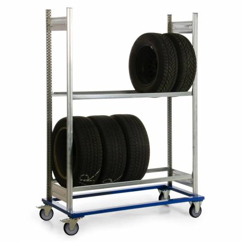 Protaurus Fahrgestell mit Reifenregal