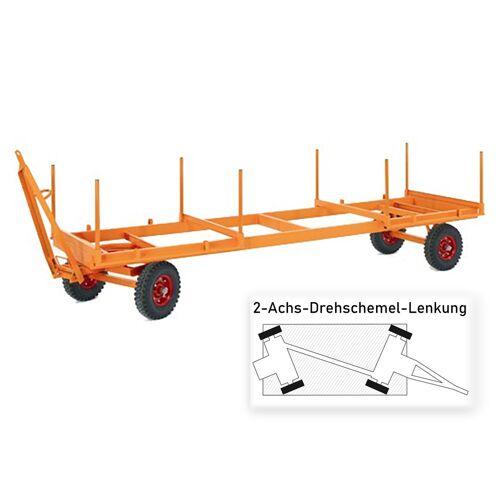 Rollcart Langmaterialanhänger mit 2-Achs- Drehschemel- Lenkung 5000x1250mm Luft