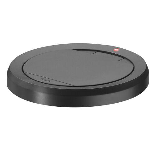 Hailo Deckel Touch mit Klemmrahmen in schwarz für Big-Box Touch 60/XL