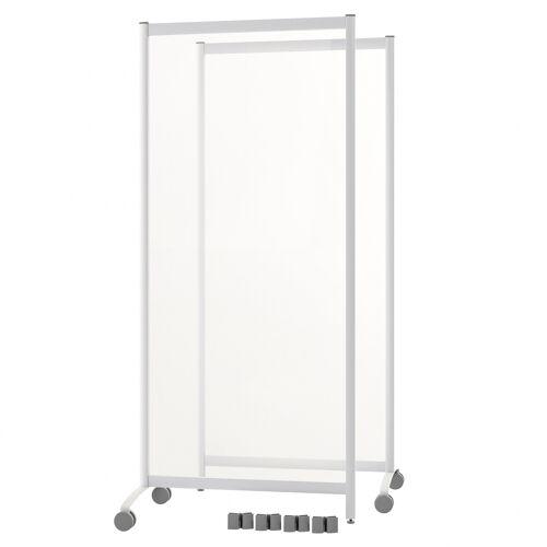 Protaurus Mobile Trennwand mit Acrylglas