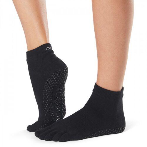 Yogasocken Full Toe Ankle - Black