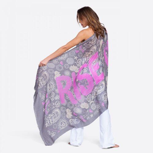 Schal aus Merinowolle - RISE UP