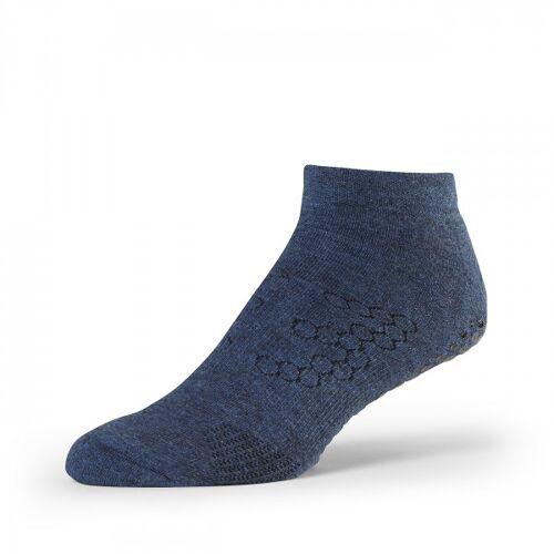 Yogasocken Men Low Rise Grip - Navy Blue