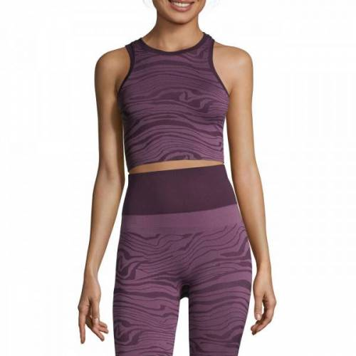 Seamless Melted Top - Melted Purple
