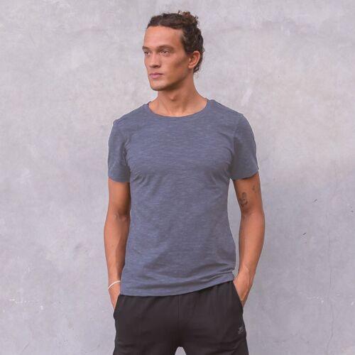 T-Shirt Rocky - Nightblue Melange