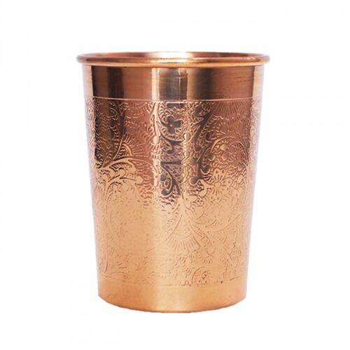 Kupferbecher - Graviert 300 ml