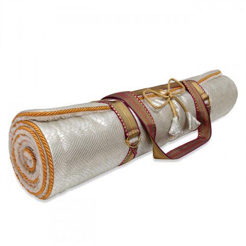 Platinum Yoga Rug Mat - Platinum Snake