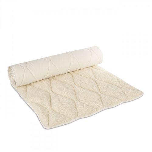 Komfort Schurwollmatte Komfort - Natur