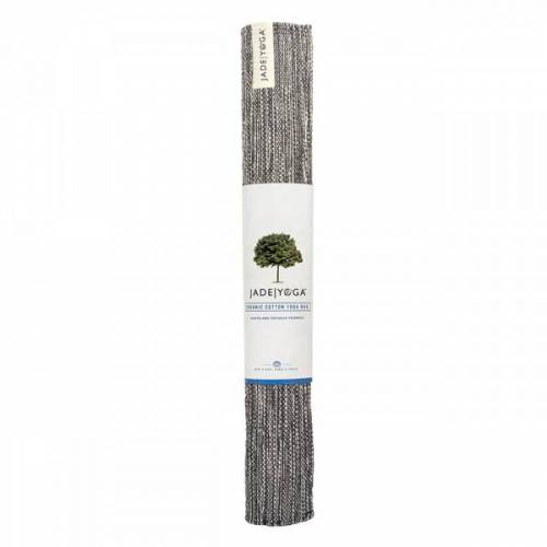 Mysore Yogateppich Bio-Baumwolle - Karungali Black