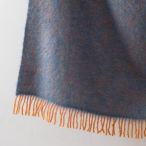 Wolldecke Revontuli - Blau