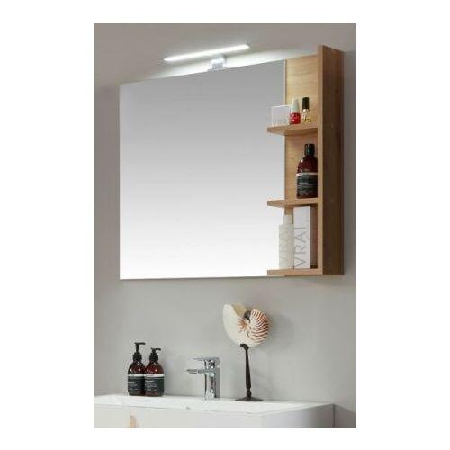 Bad Spiegel One Eiche mit Ablage 79 x 68 cm