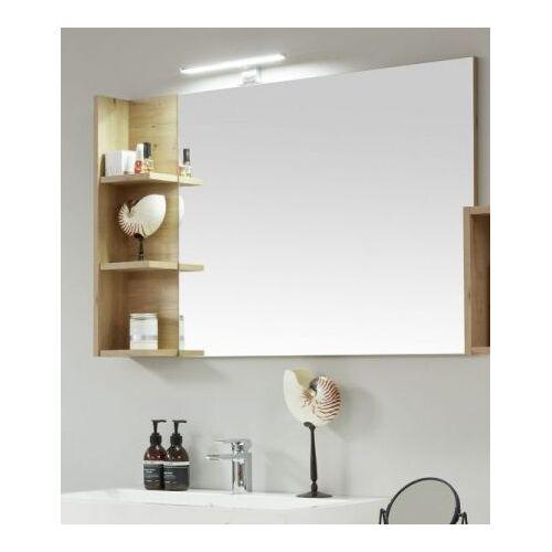 Bad Spiegel One Eiche mit Ablage 104 x 68 cm