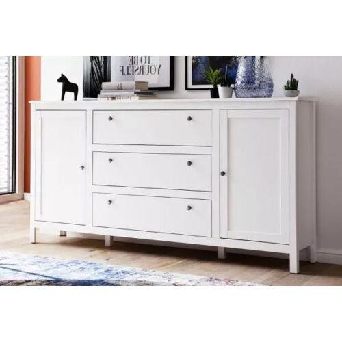 Kommode Ole in weiß Sideboard für Flur und Esszimmer 183 x 98 cm