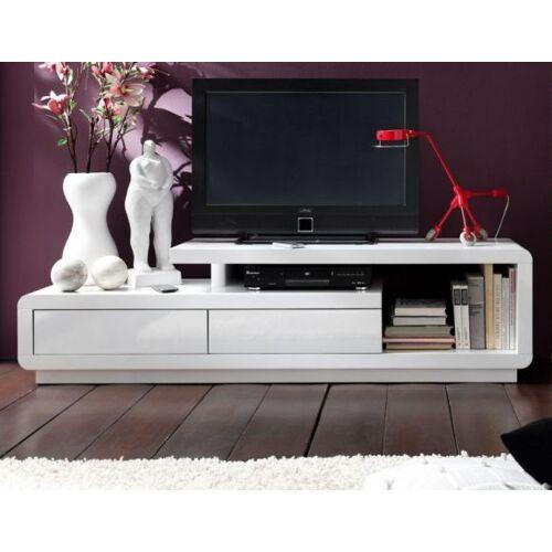 TV-Lowboard Hochglanz weiß 170 cm