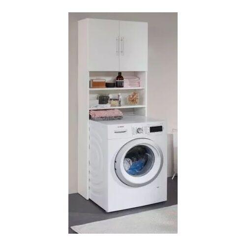 Waschmaschinenschrank Badmöbel Basix weiß 64 cm