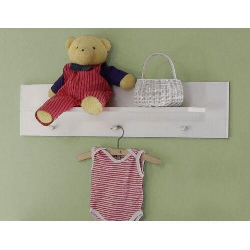 Babyzimmer Wandregal Olivia / Wilson weiß