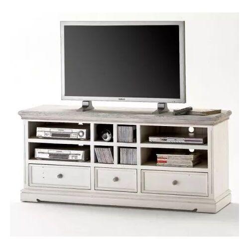 TV-Lowboard Opus Kiefer weiß massiv 163 cm