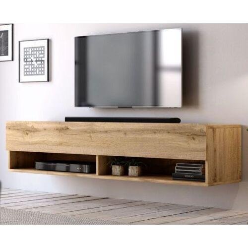 TV-Lowboard Epsom Wotan Eiche hängend 140 cm