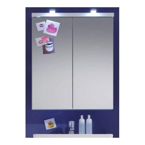 Badezimmer Spiegelschrank Nightlife weiß 65 x 80 cm