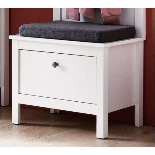 Garderobe Sitzbank Ole weiß 55 cm