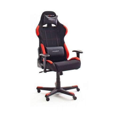 Bürostuhl DX-Racer schwarz und rot