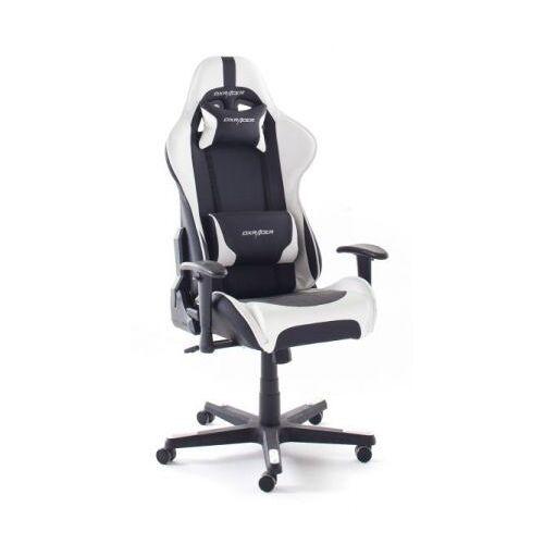 Bürostuhl DX-Racer schwarz und weiß