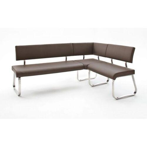 Braun Eckbank Arco Braun Leder 200 x 150 cm