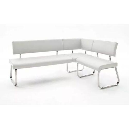 Eckbank Arco Weiß Leder 200 x 150 cm
