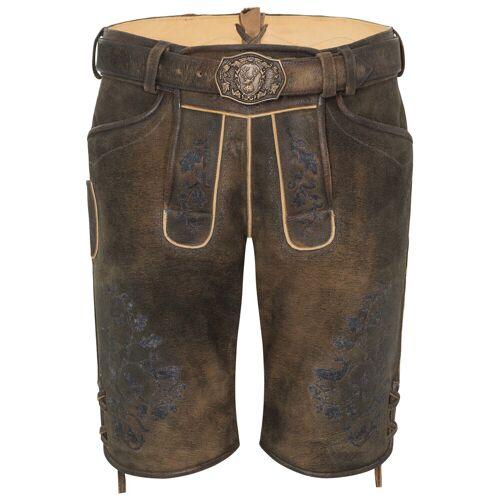 Braun Spieth & Wensky Wildbocklederhose NANNO (braun   44) Für Herren, Trachten Lederhosen