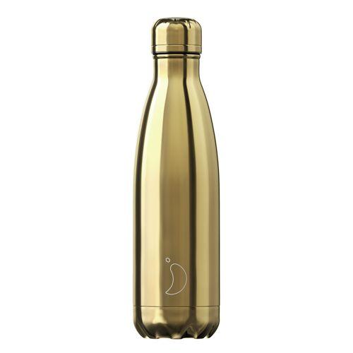 Chilly's Trinkflasche Chilly´s Gold (500 ml) Für Damen, Accessoires Trinkflaschen